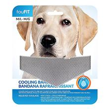 fouFIT Dog Cooling Bandana - Grey