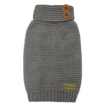 foufou Dog Crochet Dog Sweater - Gray