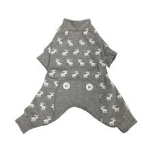foufou Dog Moose Dog Pajamas - Gray