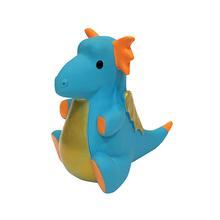 foufou Dog Dragon Chew Latex Dog Toy - Blue
