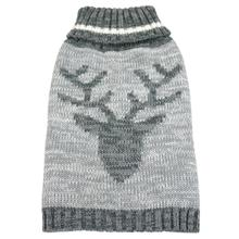 foufou Dog Heritage Dog Sweater - Deer in Gray
