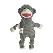 FouFou Dog Heritage Knotted Corduroy Dog Toy - Monkey