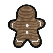 FouFou Dog Holiday Cutout Tough Dog Toy - Gingie