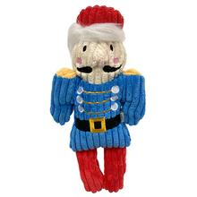 foufou Dog Nutcracker Corduroy Dog Toy - Toy Soldier