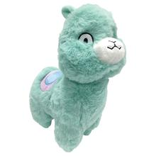 foufou Dog Pastel Pal Fuzzy Dog Toy - Llama