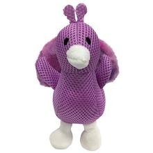 foufou Dog Pastel Pal Spikers Dog Toy - Peacock