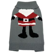 FouFou Dog Ugly Christmas Dog Sweater - Santa