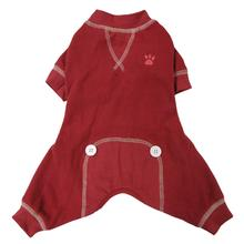 foufou Dog Thermal Dog Pajamas - Red