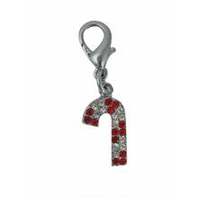 Foxy Glitz Candy Cane Charm by Cha-Cha Couture
