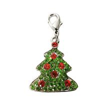 Foxy Glitz Christmas Tree Charm by Cha-Cha Couture