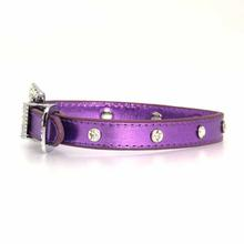 Foxy Metallic Jewel Dog Collar by Cha-Cha Couture - Lilac