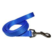 Foxy Solid 5' Dog Leash by Cha-Cha Couture - Blue