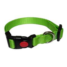 Foxy Solid Dog Collar by Cha-Cha Couture - Green