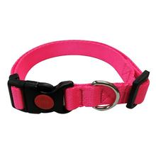 Foxy Solid Dog Collar by Cha-Cha Couture - Pink
