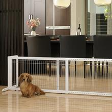 Freestanding Pet Gate - Origami White