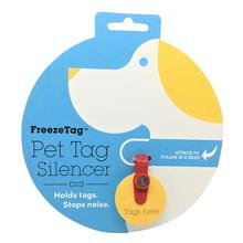 FreezeTag Pet Tag Silencer - Red