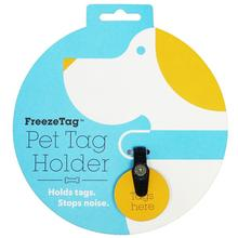 FreezeTag Dog Tag Silencer - Black
