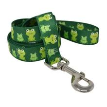 Frog Frenzy Dog Leash by Yellow Dog