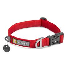 Front Range Dog Collar by RuffWear - Red Sumac