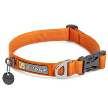 Front Range Dog Collar by RuffWear - Campfire Orange