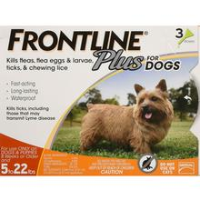 Frontline Plus Dog Flea & Tick Control