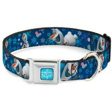 Frozen Olaf Seatbelt Buckle Dog Collar by Buckle-Down