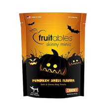 Fruitables Skinny Minis Dog Treat - Pumpkin Spice