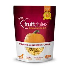Fruitables Dog Treats - Pumpkin & Cranberry