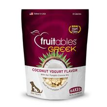 Fruitables Greek Yogurt Dog Treat - Coconut