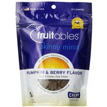 Fruitables Skinny Minis Dog Treat - Pumpkin/Berry
