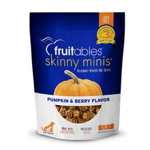 Fruitables Skinny Minis Dog Treats - Pumpkin/Berry