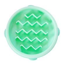 Fun Feeder Slow Feeder Dog Bowl - Mint Wave