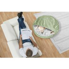 Furhaven Microvelvet Snuggery Orthopedic Pet Bed - Sage