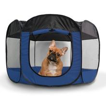 Furhaven Playpen for Dogs and Cats - Sailor Blue
