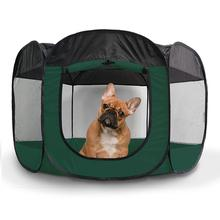 Furhaven Playpen for Dogs and Cats - Hunter Green