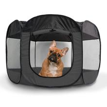 Furhaven Playpen for Dogs and Cats - Gray