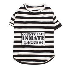 Furry Inmate Dog Costume Shirt