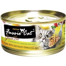 Fussie Cat Premium Tuna with Anchovies in Aspic Grain-Free Canned Cat Food