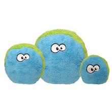 Duraplush FuzzBall Dog Toy by Cycle Dog - Blue and Green