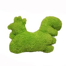 Fuzzie's Soft Dog Toy by Cycle Dog - Green Chicken