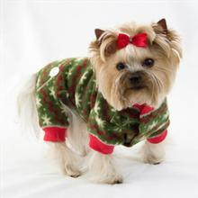 Fuzzy Snow Fleece Dog Jumper By Hip Doggie