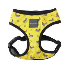 FuzzYard Monkey Mania (Bananas on Yellow) Dog Harness