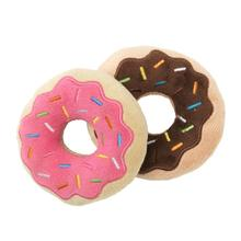 FuzzYard Donuts Plush Dog Toy - 2 Pack