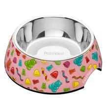 FuzzYard Jelly Bears Easy Feeder Dog Bowl