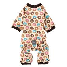 FuzzYard Go Nuts (Donuts) Dog Pajamas