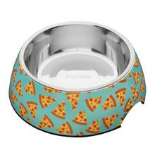 FuzzYard Pizza Easy Feeder Dog Bowl