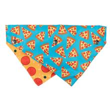 FuzzYard Pizza Reversible Dog Collar Bandana with Studs