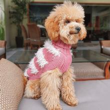 Game of Bones Alpaca Dog Sweater by Alqo Wasi - Pink