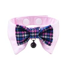 Gareth Cat Shirt Collar and Bow Tie By Catspia - Pink