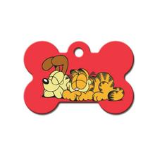 Garfield & Odie Bone Large Engravable Pet I.D. Tag